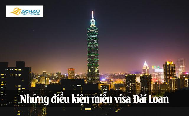 Miễn visa Đài Loan cho công dân Việt Nam