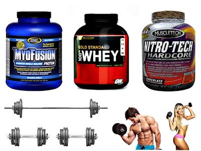 suplementos proteínicos en polvo masa muscular