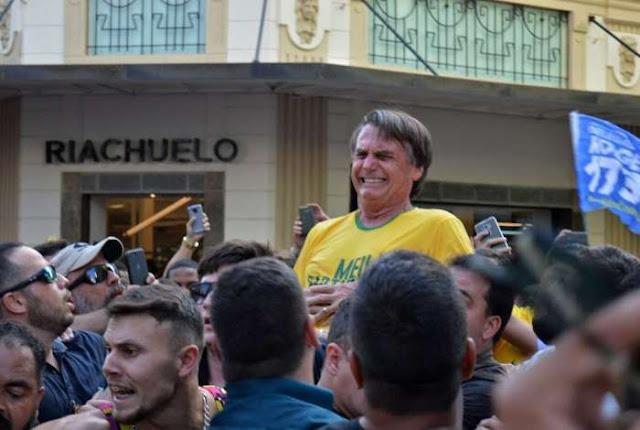 Olavo de Carvalho fala sobre tentativa de matar Bolsonaro