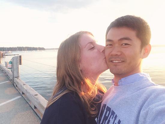 Honeymoon in St. Andrews, NB