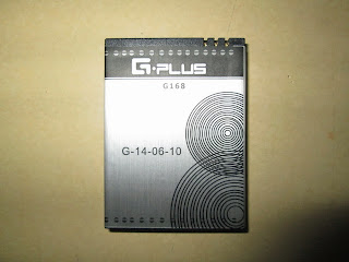 baterai hape outdoor Gplus G168