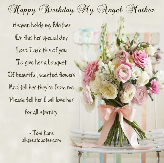 Happy Mother's Day In Heaven Images Quotes, Wishes, Poem And Pictures