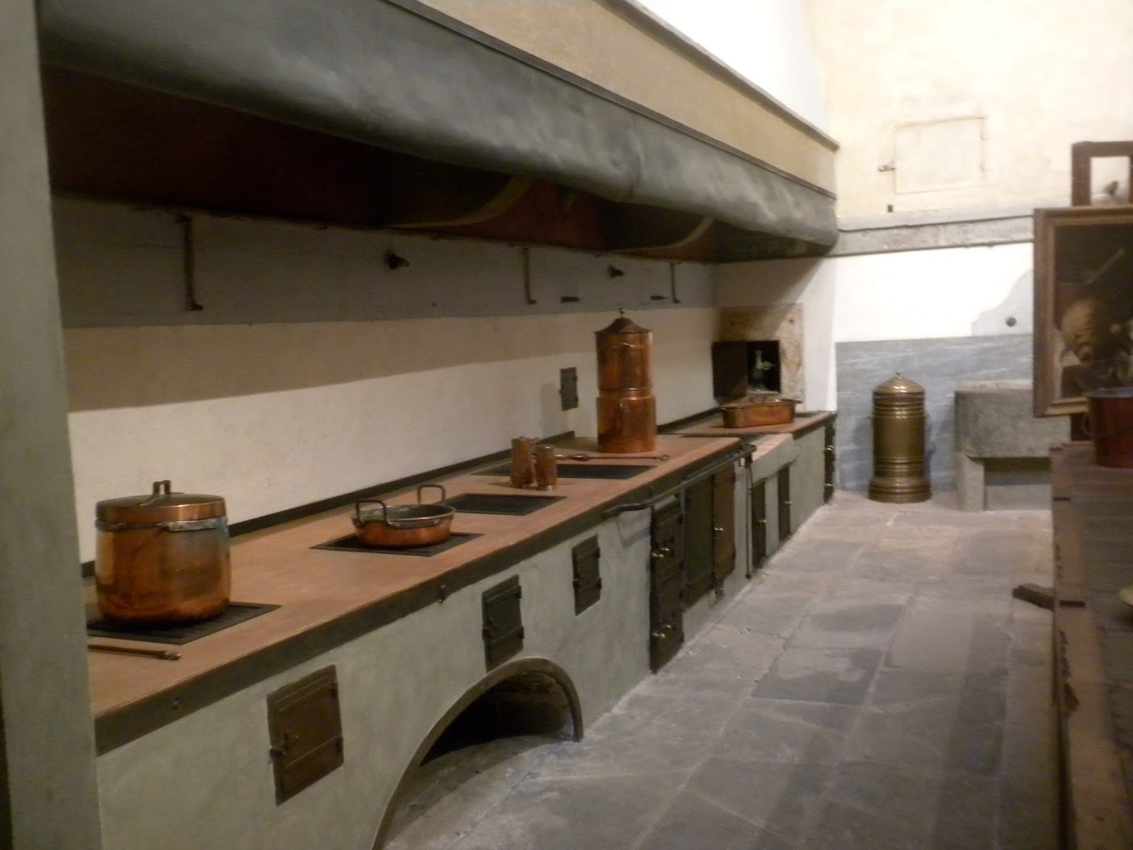 From a Tuscan Hillside: The Big Kitchen at the Pitti Palace
