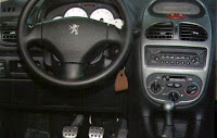 interior peugeot 206 escapade