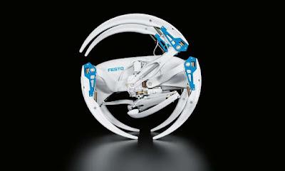 Un robot amb articulacions d'aranya que pot caminar i rodar