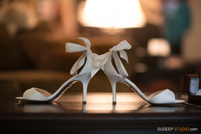 Brides Wedding Shoes by SudeepStudio.com Ann Arbor Wedding Photographer