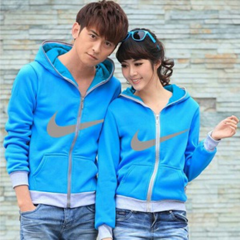 Jual Jacket Couple Jacket Nike Biru - 23453