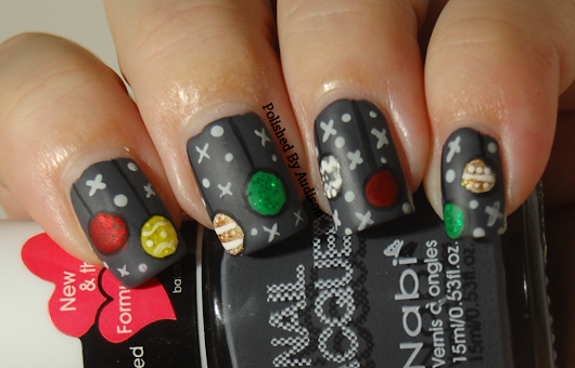 12 Days of Christmas Nail Art Challenge | Day 8 | Christmas Decorations