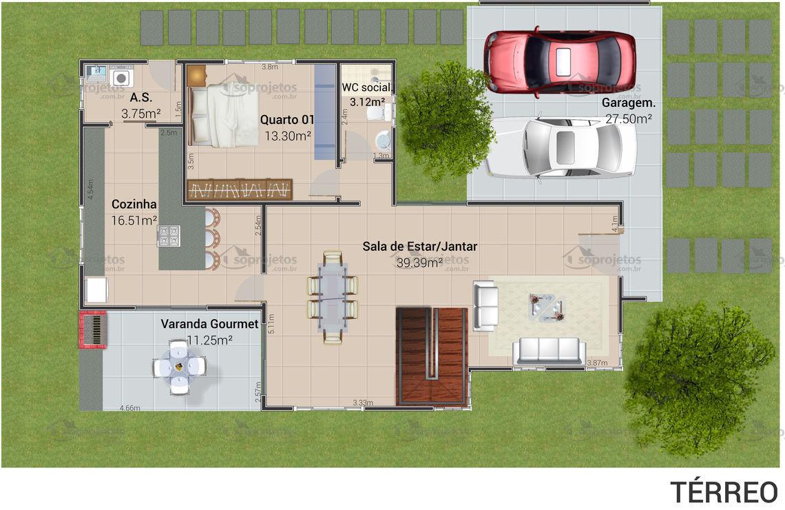 Construindo Minha Casa Clean Quer Construir Veja Plantas E