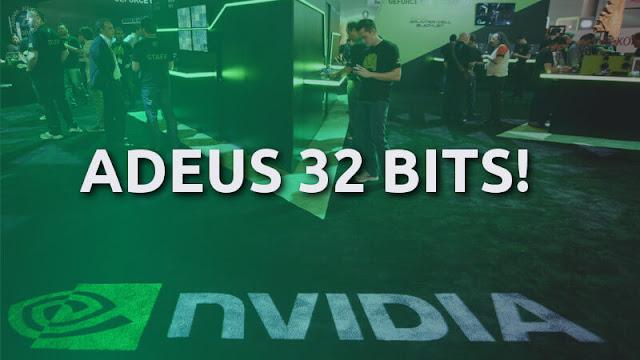 Nvidia vai deixar de suportar sistemas de 32 bits