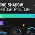 Membuat Long Shadow Flat Design Dengan Action di Photoshop