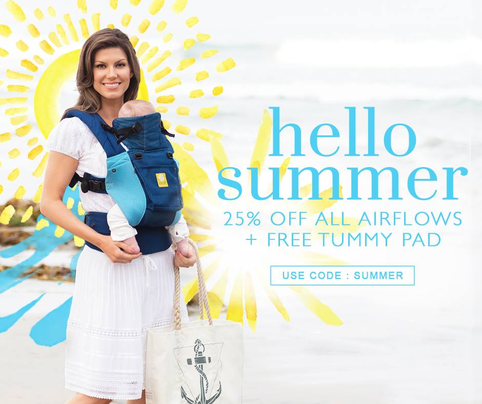 Lillebaby Airflow Carrier Summer Sale The Baby Gear Files