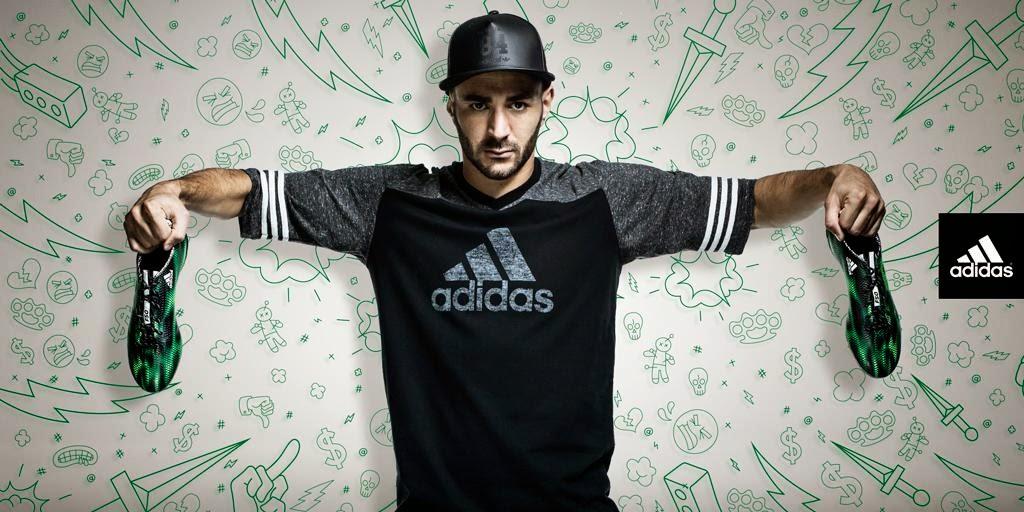 """Benzema, otro """"odiado"""" más de adidas"""