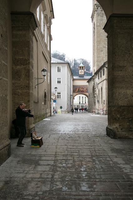 Scorcio dalla Domplatz-Salisburgo