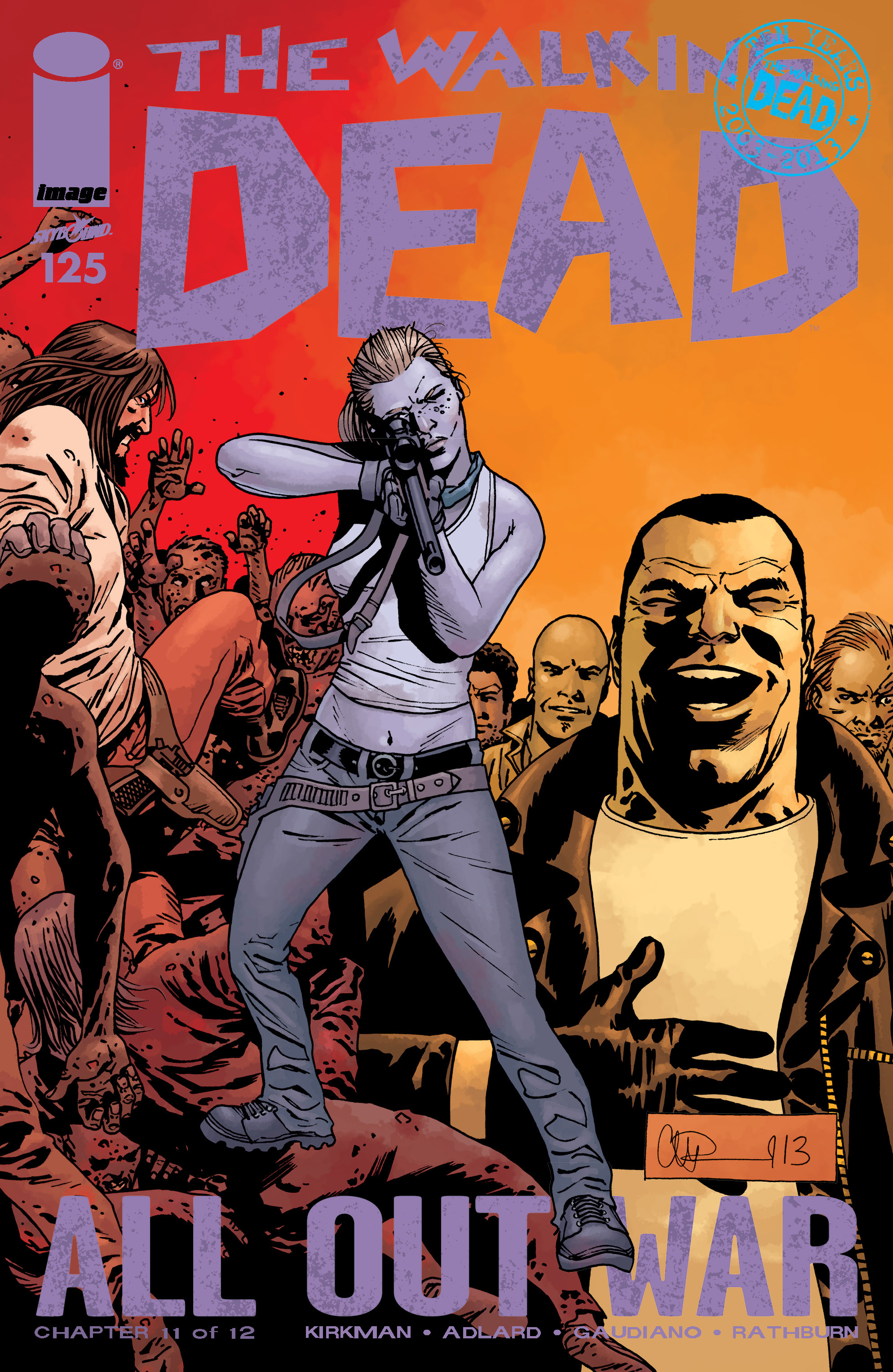 The Walking Dead 125 Page 1