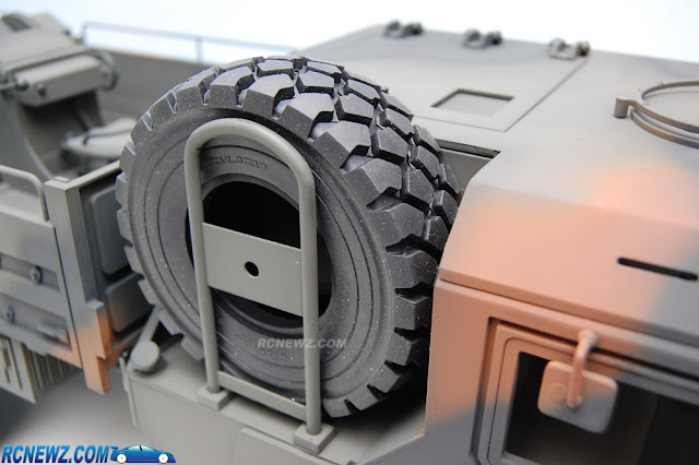 RC4WD Beast 2 6x6 spare tire