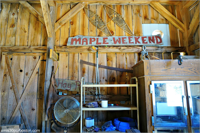 Sirope de Arce en New Hampshire: Heritage Farm Pancake House