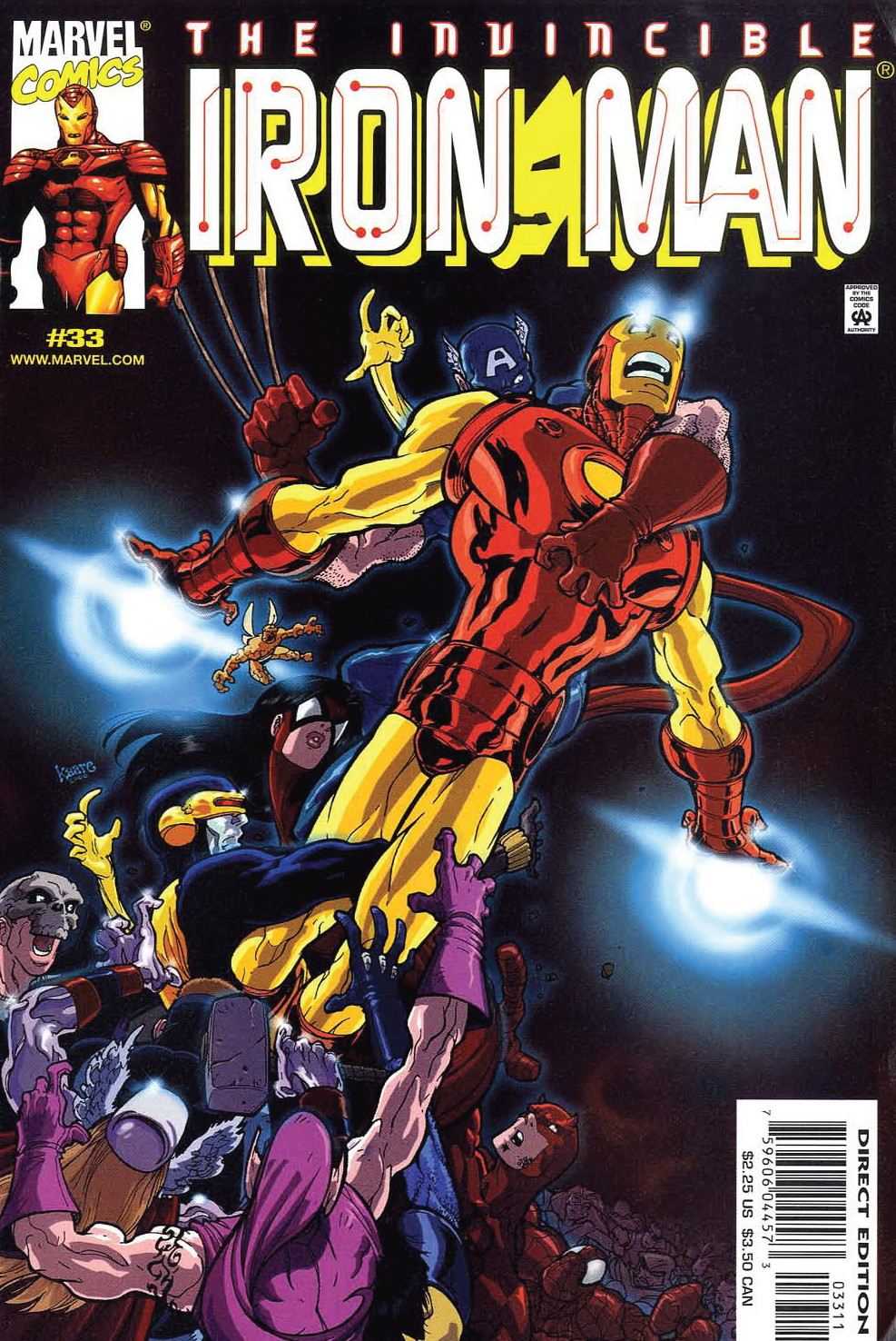 Iron Man (1998) 33 Page 1