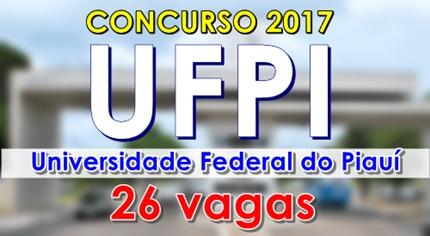 Apostila concurso UFPI 2017