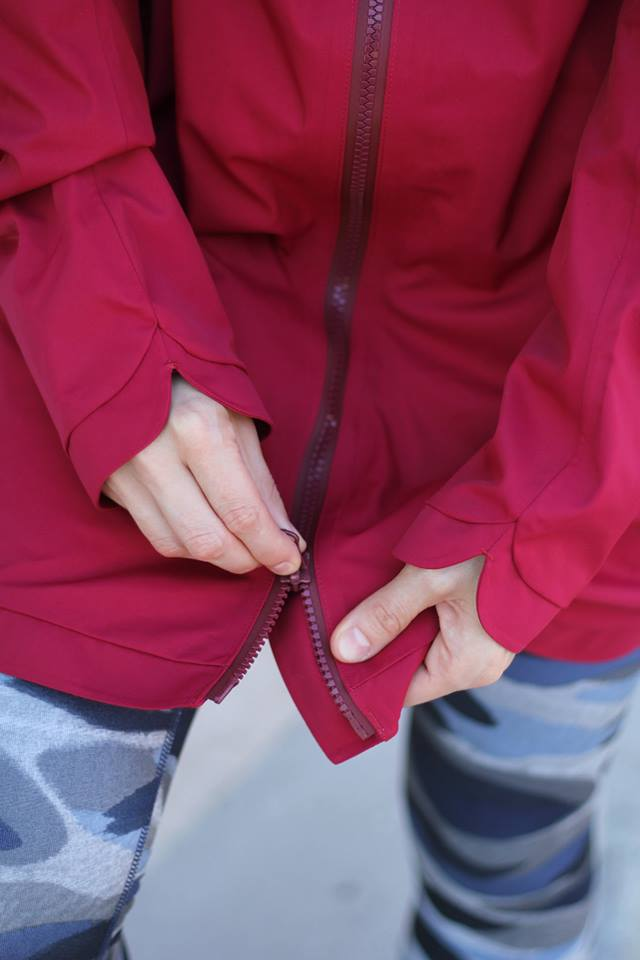 lululemon-definitely-raining-jacket cranberry