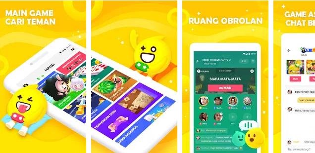 Aplikasi Hago Android