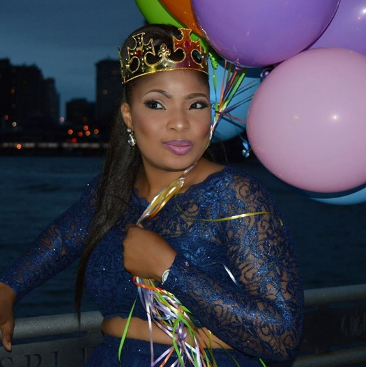 laide bakare 36th birthday party