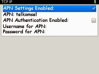 Setting BlackBerry Tanpa BIS