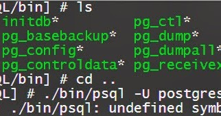 iLearnBlogger: QNAP/Linux Tool - Setting PostgreSQL and PHP Environment