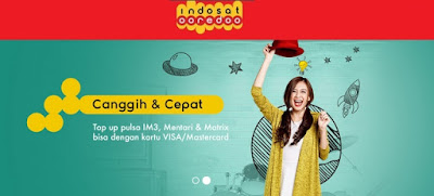 Membeli Pulsa Indosat Melalui Internet