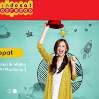 Cara isi Pulsa Indosat Ooredoo Melalui Internet