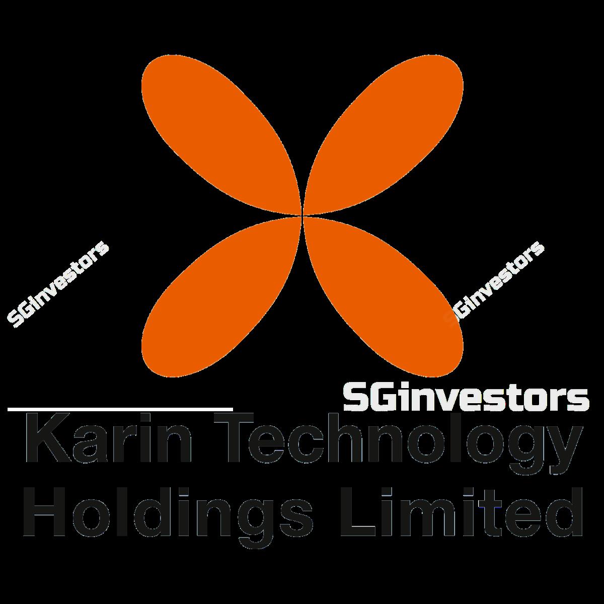 KARIN TECHNOLOGY HLDGS LIMITED (SGX:K29) @ SGinvestors.io
