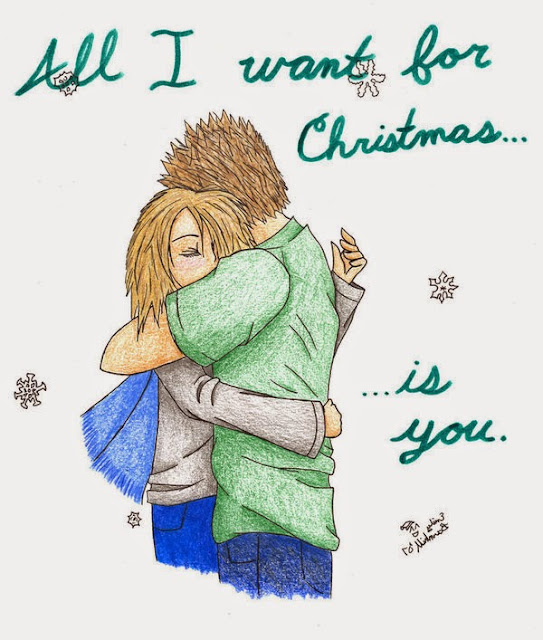Download All I want Christmas Greetings Card for Girlfriend