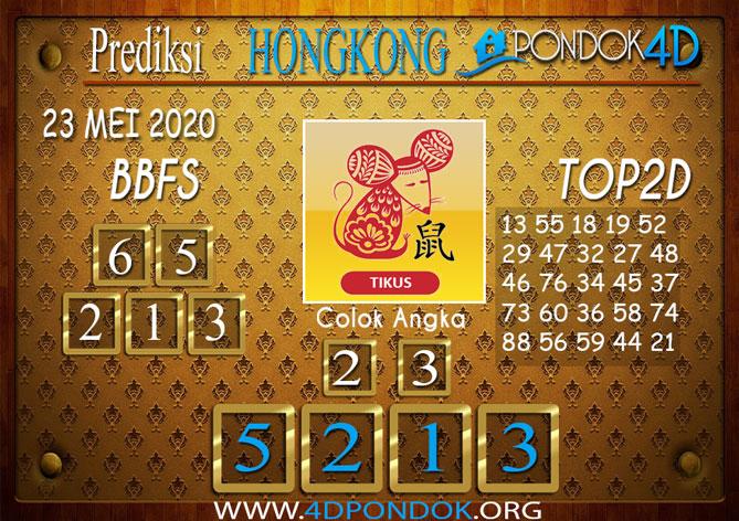 Prediksi Togel HONGKONG PONDOK4D 23 MEI 2020