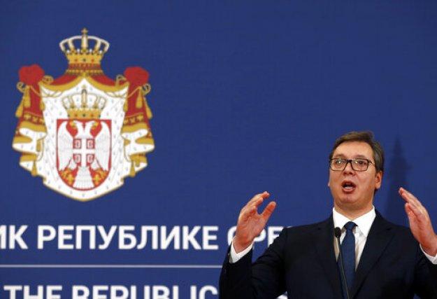 Σερβία: Θα δεχτούμε πιέσεις για να αναγνωρίσουμε το Κόσοβο