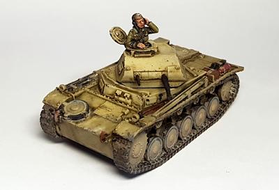 Blitzkrieg Miniatures Panzer 2 Ausf F