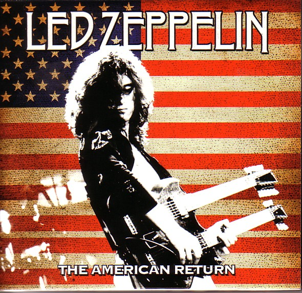 1975 - Led Zeppelin - The American Return - Long Beach