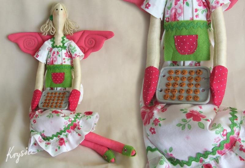 anielica tilda kuchenna z ciasteczkami