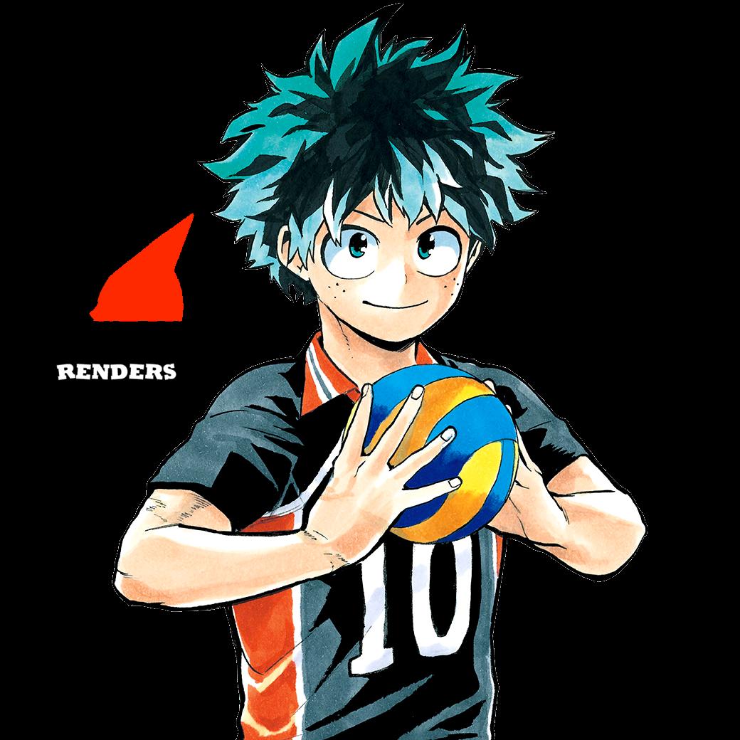 Midoriya- Render