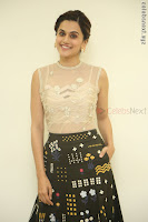 Taapsee Pannu in transparent top at Anando hma theatrical trailer launch ~  Exclusive 014.JPG