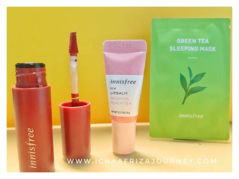 Review : Vivid Cotton Ink Lipstick dan Produk Innisfree Lainnya