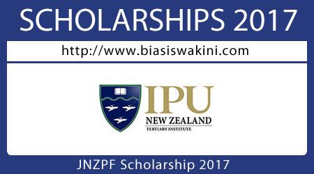 JNZPF Scholarship 2017