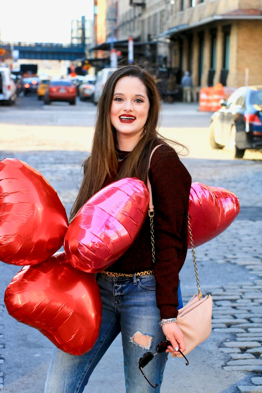 fashion blogger valentines day outfits