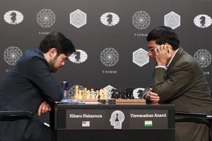 Nakamura y Anand en la duodécima ronda del Torneo de Candidatos