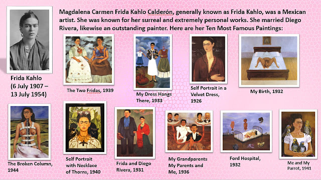 Frida Kahlo Biography | Life | History | Paintings /Ten Most Famous Paintings of Frida Kahlo