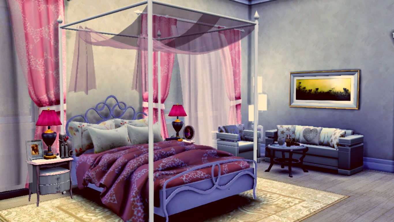 Sims 4 Room Downloads Catchy Sweet Bedroom Sanjana Sims