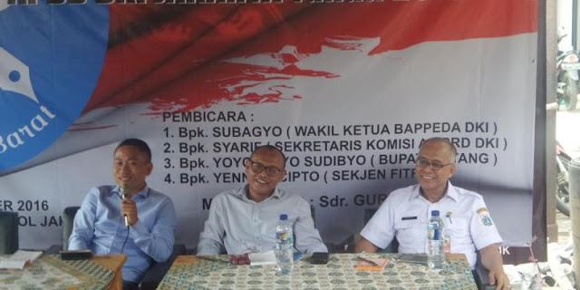 Bupati Yoyok Suruh Warga Jakarta Pertanyakan Serapan Anggaran DKI