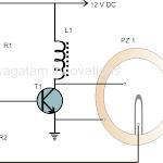 Simple Buzzer Circuit - Piezo Electric Buzzer Explained