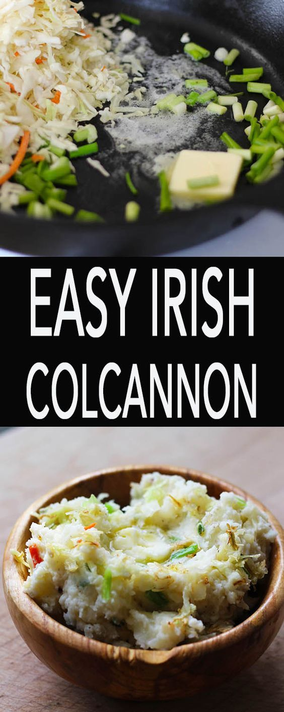 easy traditional irish colcannon recipe
