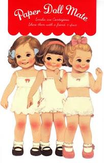 Bonecas de Papel - Paper Dolls - Muñecas Recortables