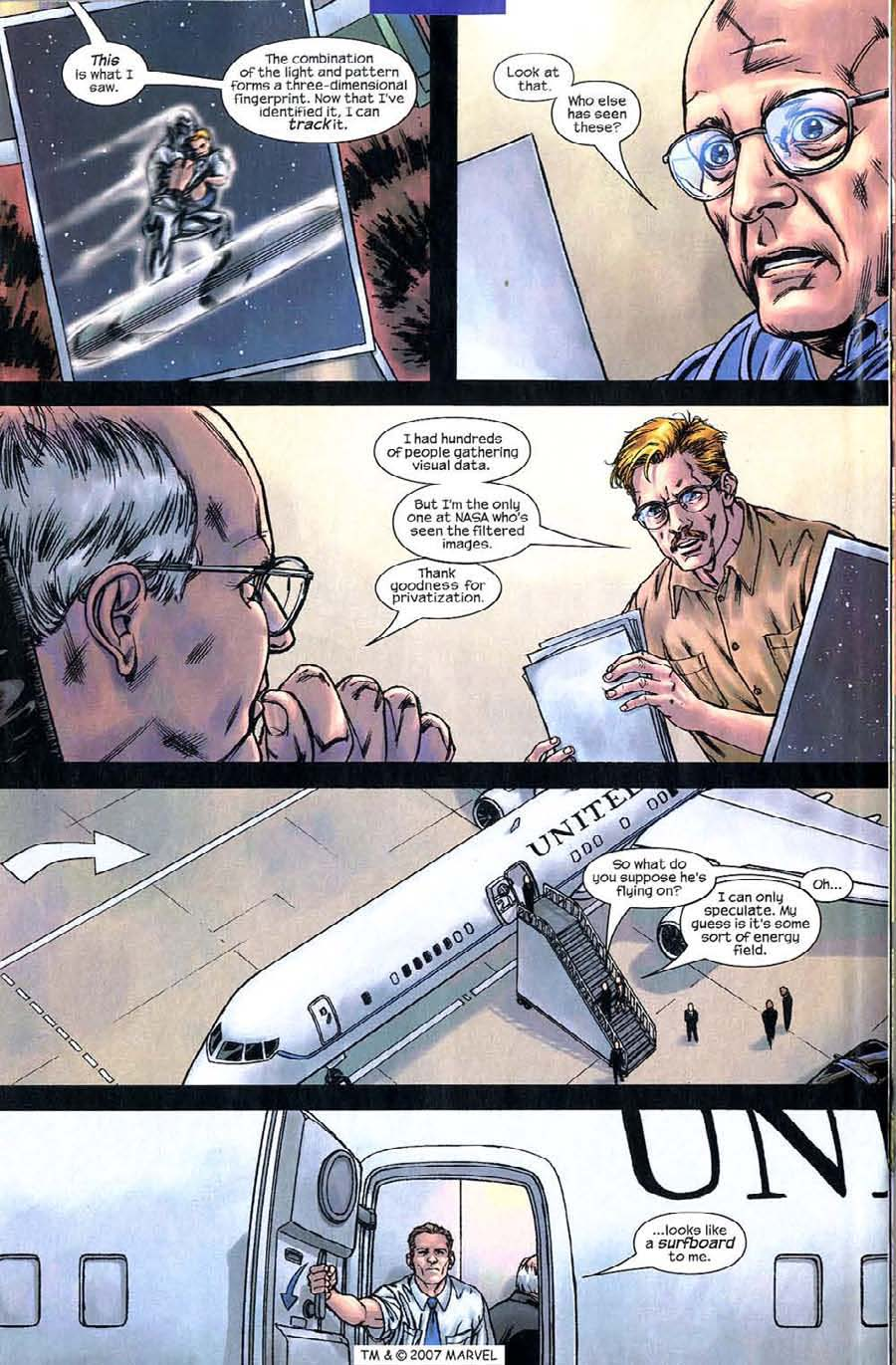 Read online Silver Surfer (2003) comic -  Issue #5 - 20